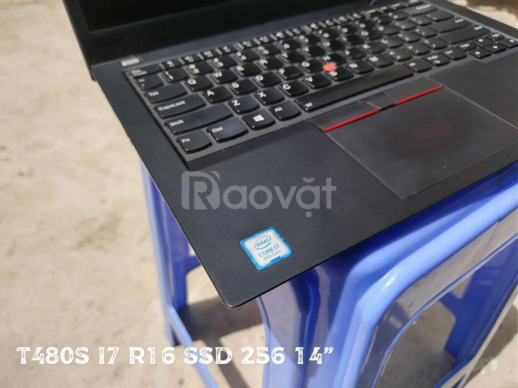 Lenovo Thinkpad T480s i7 ram 16 ssd 256