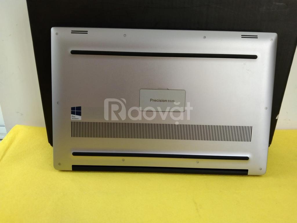Laptop đồ hoạ cao cấp nhà Dell Precision 5520 với cấu hình khủng