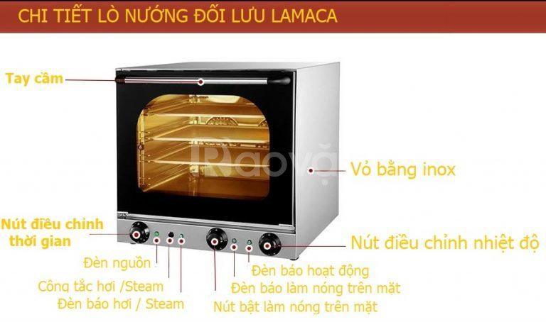 Lò nướng bánh đối lưu Lamaca 4 tầng
