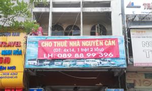 Cho thuê nguyên căn nhà mặt tiền Phạm Ngũ Lão Quận 1, 4x14