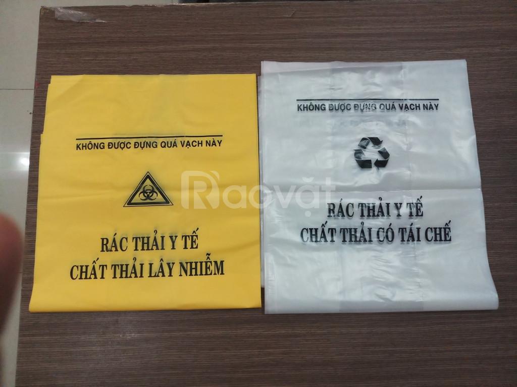 Túi đựng rác cho các loại thùng rác y tế