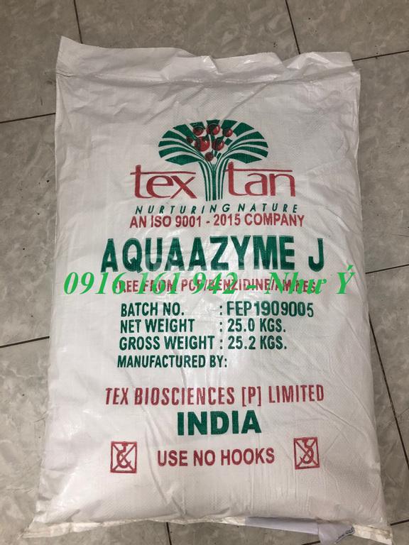 Aaquazyme J, enzyme tăng trọng cho tôm cá, khuyến mãi 5 tặng 1