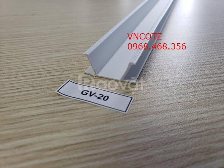 Nẹp nhựa chỉ âm tường GV-20
