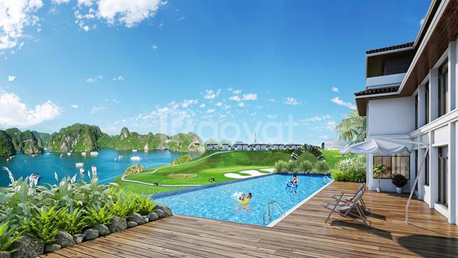 Bán villa đẹp trên đồi FLC view  Vịnh Hạ Long và sân golf giá đầu tư