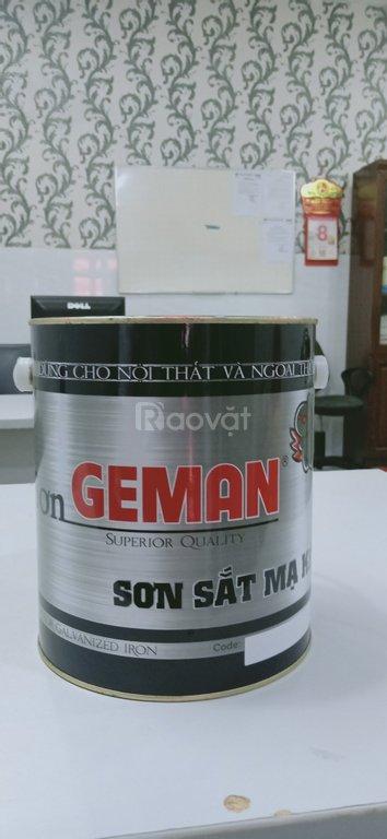 Sơn sắt mạ kẽm Geman, sơn chuyên dụng cho kẽm