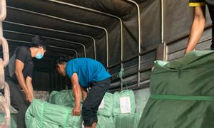 Vận chuyển bao bì, bao dệt đi Campuchia