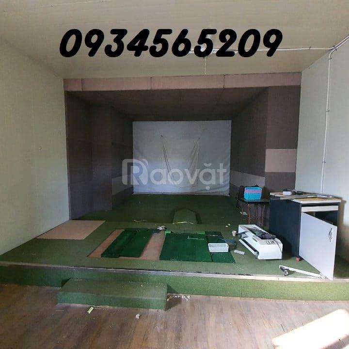 Cung cấp bạt màn hình và phụ kiện phòng golf 3D
