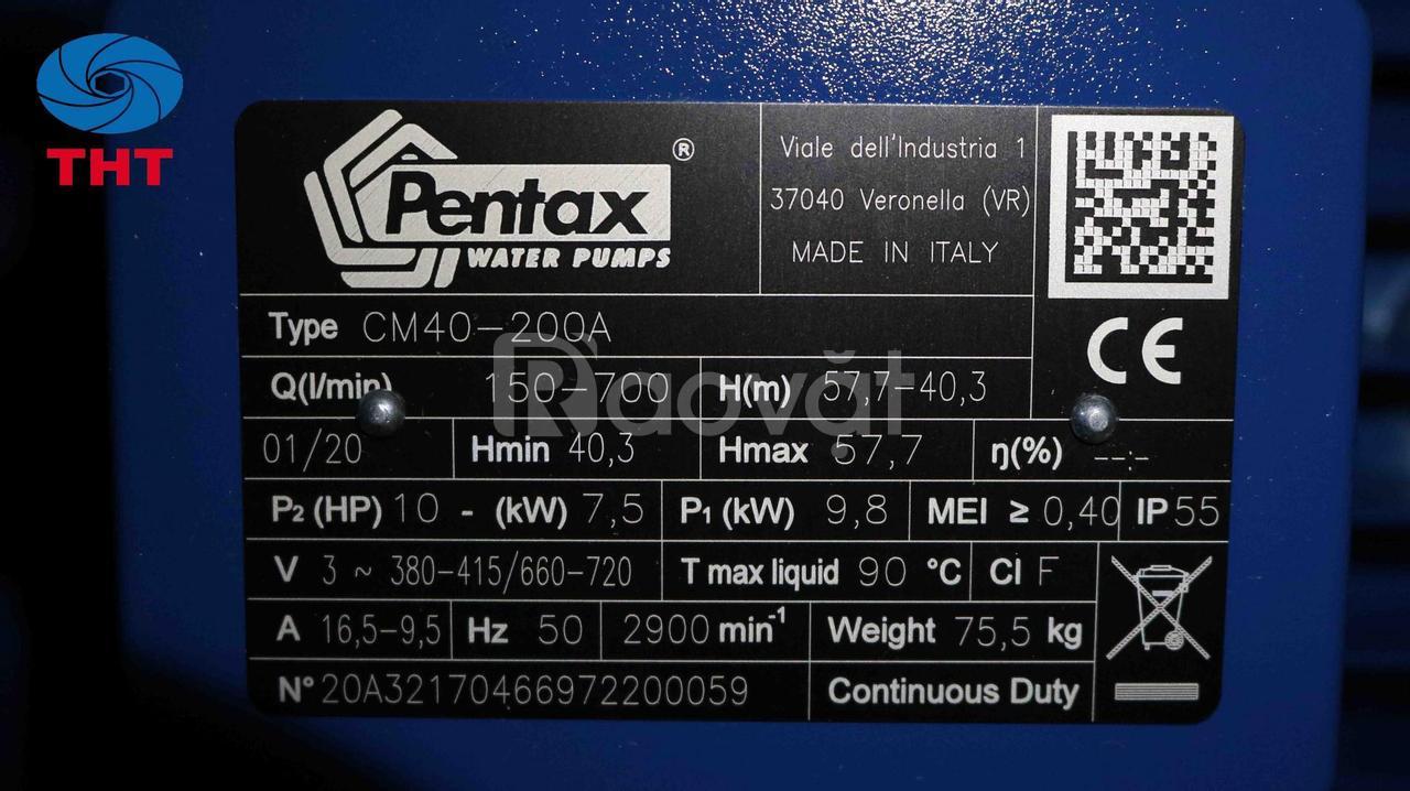 Bơm ly tâm trục ngang Pentax CM 40-200A