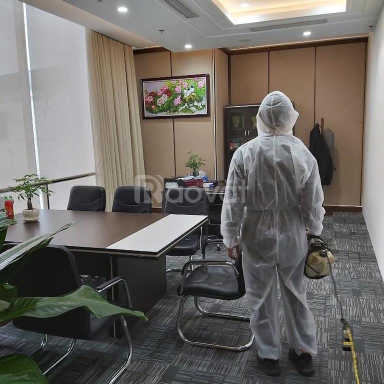 Dịch vụ phun diệt khuẩn và kiểm soát dịch hại