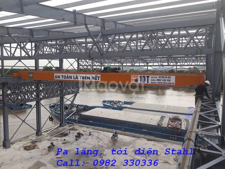 Pa lăng cáp điện Stahl Đức 1 tấn, 2 tấn, 3 tấn, 40 tấn