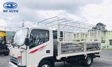 Bán xe tải Jac N200 1 tấn 9 thùng 4m3, máy isuzu 2.771cm3, hỗ trợ mua