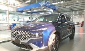Hyundai SantaFe dầu cao cấp