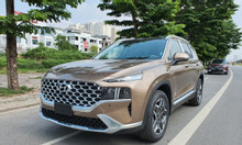 Hyundai SantaFe xăng đặc biệt