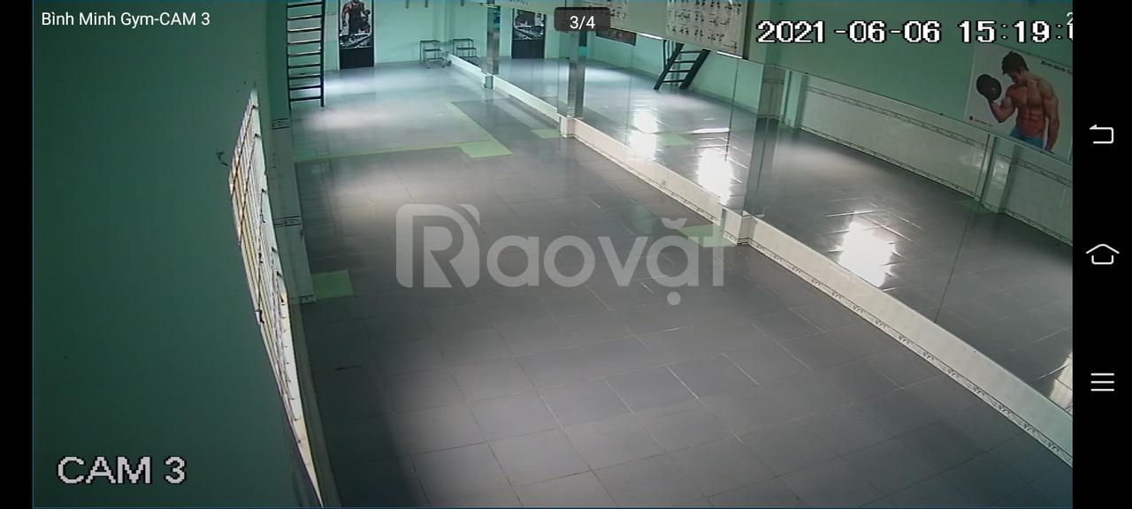 Thanh lý 20m2 gương phòng tập gym