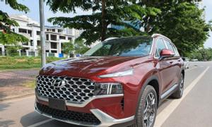 Hyundai SantaFe xăng cao cấp