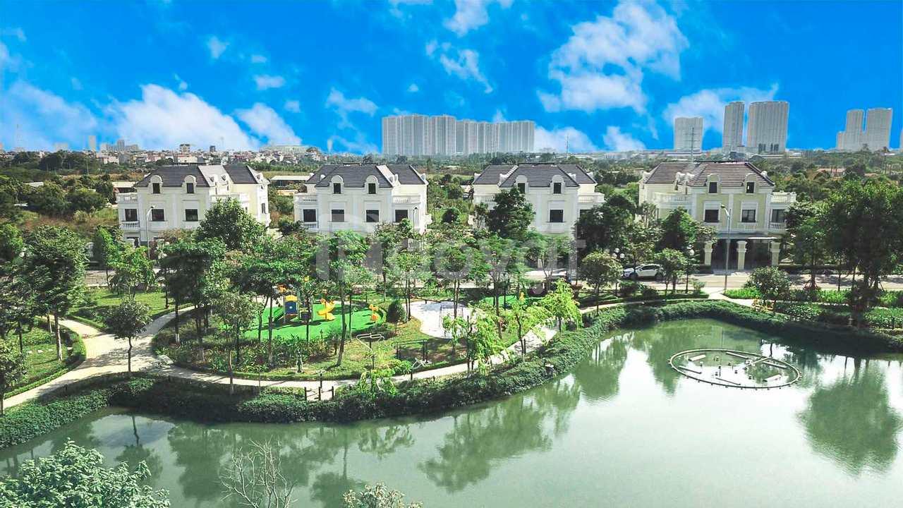 Bán biệt thự đẹp độc mặt hồ dự án An Lạc Green Symphony