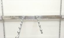 Thanh ray gắn tường và móc treo phụ kiện cài thanh ray