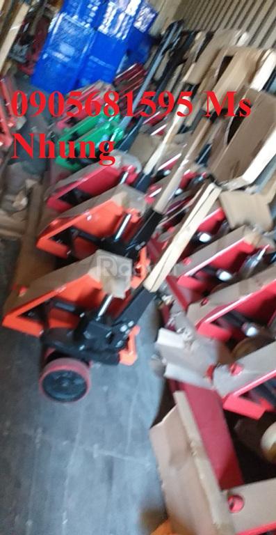 Bán sỉ và lẻ xe nâng tay chính hãng các loại giá rẻ 0905681595