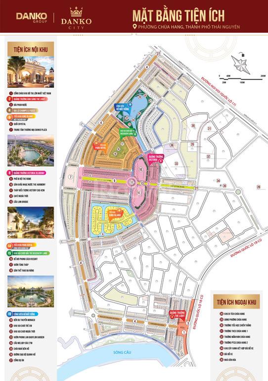 Cần bán lô đất DA Danko Thái Nguyên, vị trí đẹp, gần hồ mắt rồng 96 m2