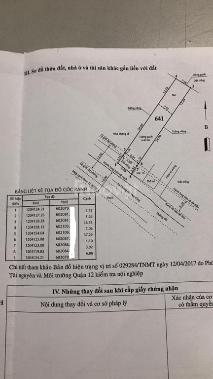 Hạ giá bán gấp nhà xưởng 7x42 mặt tiền Thạnh Lộc 43