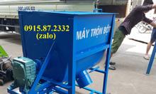 Máy trộn nguyên liệu đa năng, trộn khô, ẩm Bình Quân, giá gốc