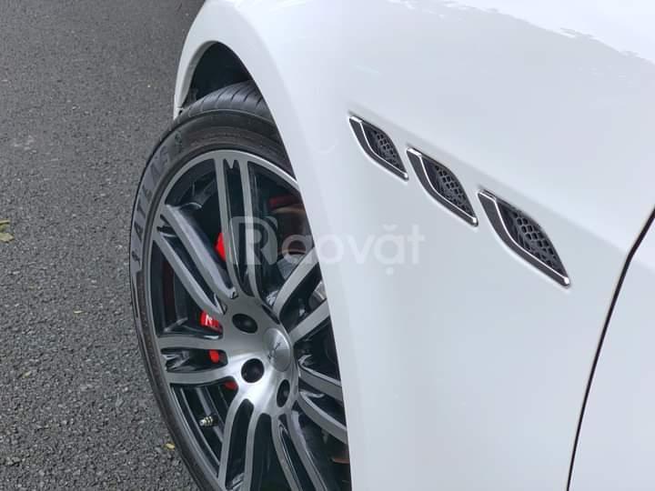 Maserati Ghibli S Q4 Model 2015, máy 3.0L 410HP