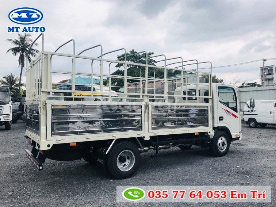 Bán xe tải jac 1 tấn 9, thùng 4m3 vào thành phố