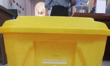 Thùng rác y tế 30L màu vàng