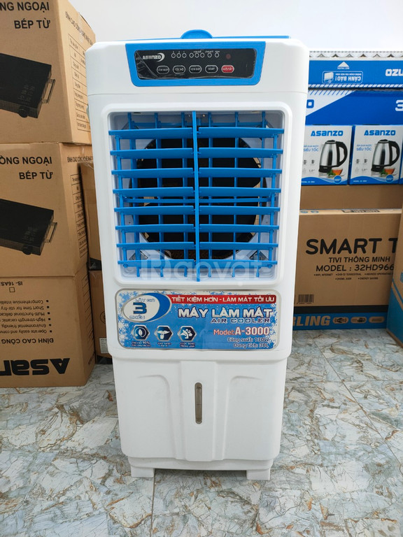 Máy làm mát, quạt hơi nước 30 lít Asanzo A-3000