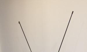Chân standee X 80x180cm bằng nhựa, mới, đẹp