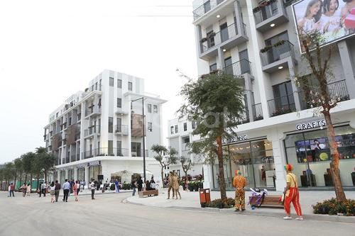 Bán shophouse 75m2 kinh doanh  mặt phố, vị trí khu trung tâm Hà Nội