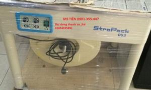 Máy đai niềng thùng D53 Strapack Japan