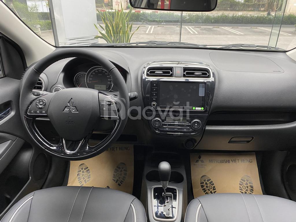 Mitsubishi Attrage CVT 2021 giảm giá đặc biệt tháng 6, giao xe ngay