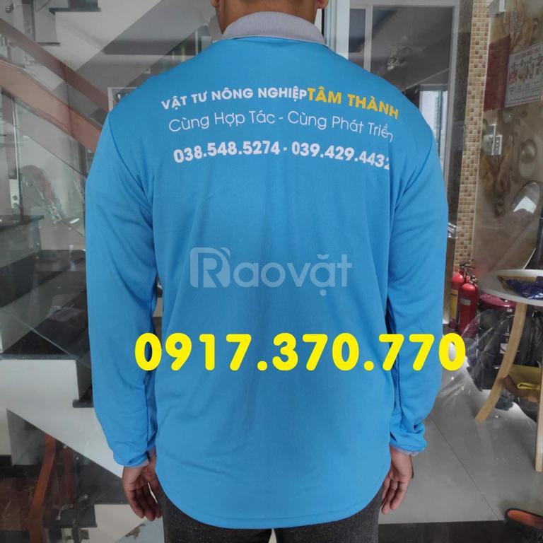 Xưởng may áo thun tay dài quà tặng theo yêu cầu tại HCM