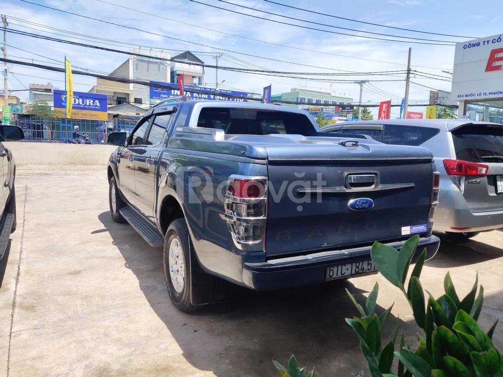 Bán xe Ford Ranger XLS 2.2L 4x2 AT, đời 2015, màu xanh, nhập khẩu Thái