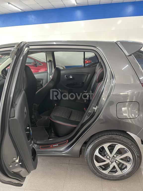 Bán xe Toyota Wigo 1.2MT, đời 2019, màu xám, nhập khẩu Indonesia
