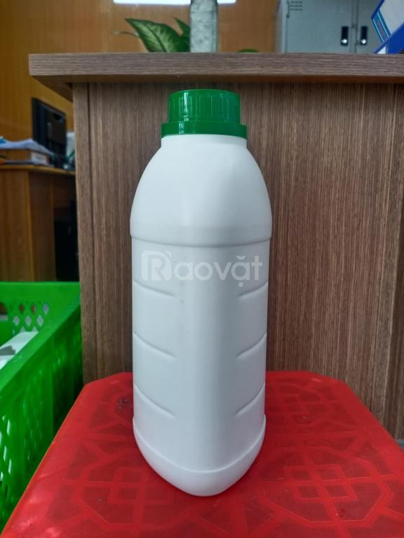 Chai nhựa đựng hóa chất, chai nhựa tròn, chai nhựa có quai
