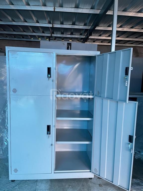 Thanh lý 6 tủ đựng hồ sơ tài liệu 4 cánh, 8 ngăn