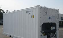 Dịch vụ cho thuê container lạnh 20 feet RF cho vận chuyển đường biển