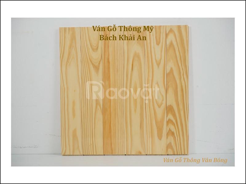 Ván sàn gỗ thông Mỹ đẹp