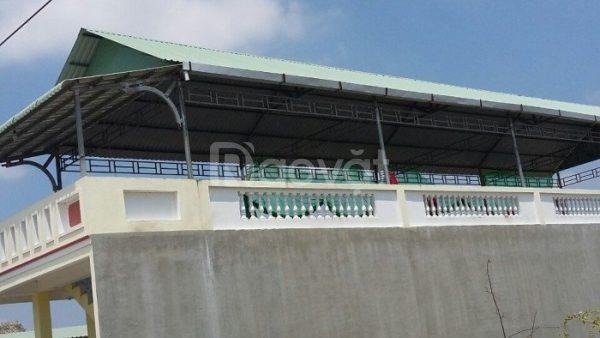 Sửa chữa khung sắt mái vòm tại TPHCM