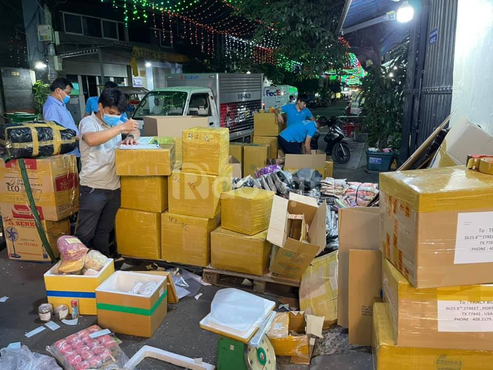 Nhận gửi thực phẩm, quần áo đi Đài Loan tại Cần Thơ giá rẻ