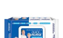 Khăn ướt người lớn Quick, Nurse 50 miếng