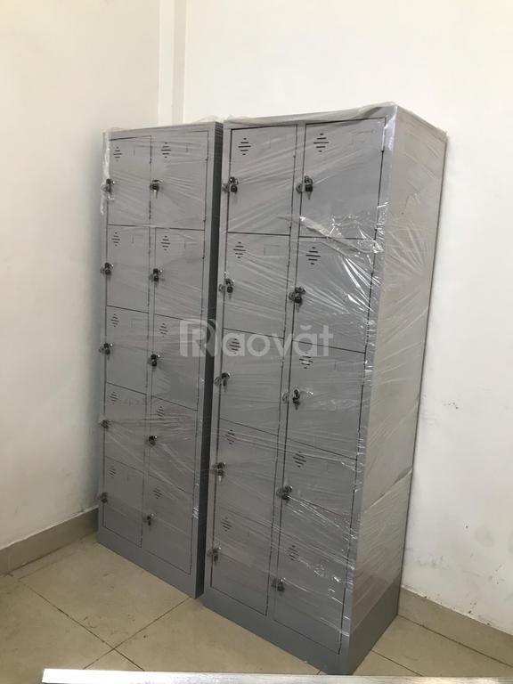 Tủ locker 10 ngăn để đồ cá nhân nhỏ gọn