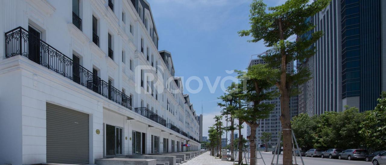 Nhà mặt phố Đinh Núp, Cầu Giấy, nhà 5 tầng mới xây chưa hoàn thiện