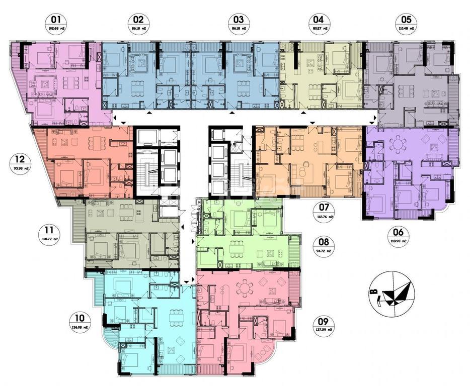 Căn hộ 2PN cao cấp tại trung tâm Quận Đống Đa