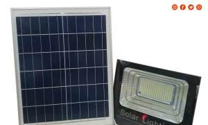 Đèn pha năng lượng mặt trời 100W model DNL100, mới 100%