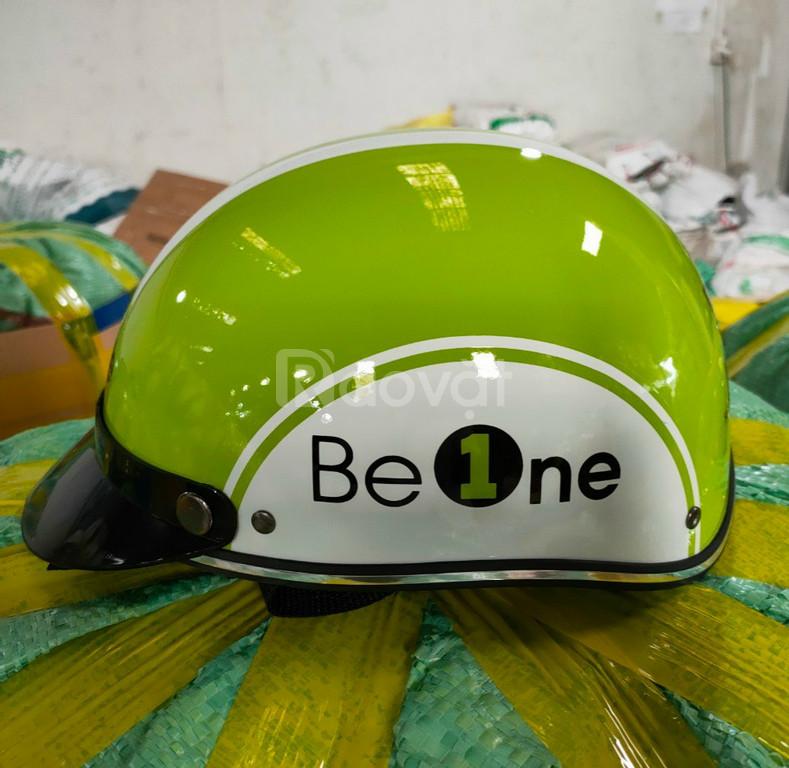 Xưởng in logo nón bảo hiểm uy tín tại Đà Nẵng