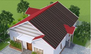 Ngôi nhà xanh, ngói lợp năng lượng mặt trời