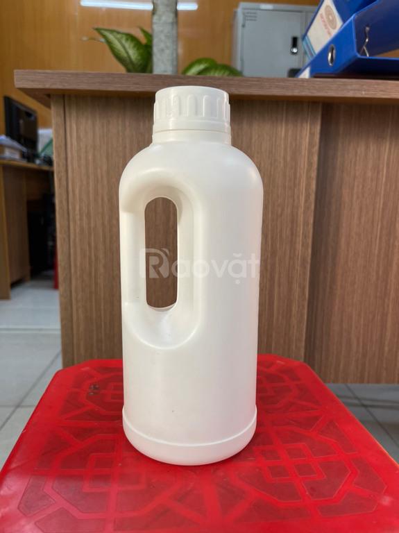 Chai nhựa 1 lít tròn, chai nhựa 1 lít vuông, chai nhựa 1 lít HDPE